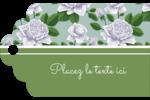 Savon fleurs vertes Étiquettes imprimables - gabarit prédéfini. <br/>Utilisez notre logiciel Avery Design & Print Online pour personnaliser facilement la conception.