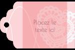 Saint-Valentin au crochet Étiquettes imprimables - gabarit prédéfini. <br/>Utilisez notre logiciel Avery Design & Print Online pour personnaliser facilement la conception.