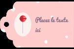 Sucette de Saint-Valentin Étiquettes imprimables - gabarit prédéfini. <br/>Utilisez notre logiciel Avery Design & Print Online pour personnaliser facilement la conception.