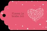 Amas en cœur Étiquettes imprimables - gabarit prédéfini. <br/>Utilisez notre logiciel Avery Design & Print Online pour personnaliser facilement la conception.