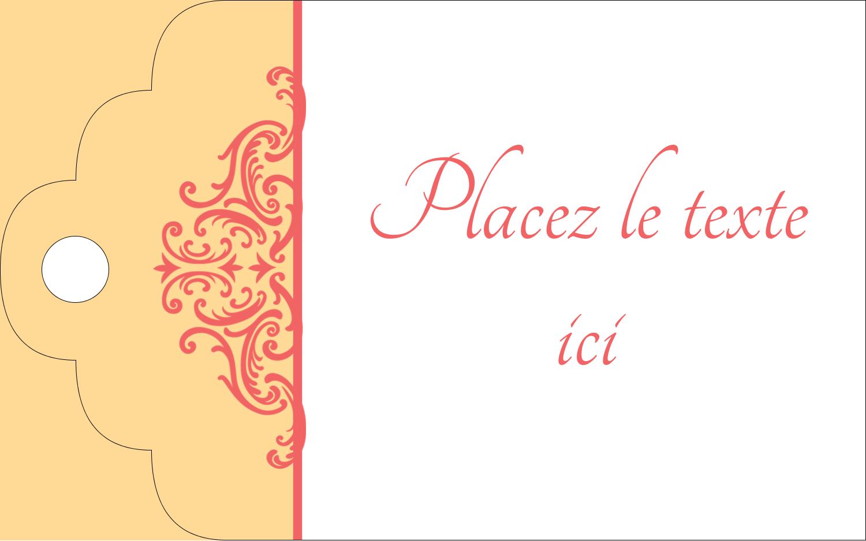 """2"""" x 1⅛"""" Étiquettes imprimables - Élégance et mariage"""
