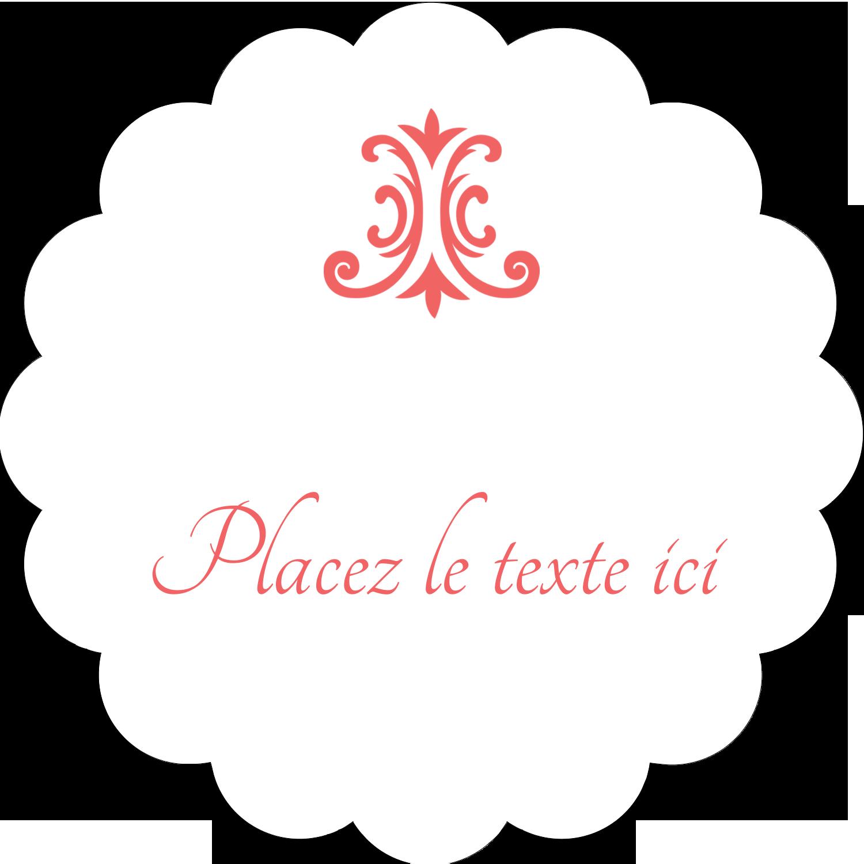 """½"""" x 1¾"""" Étiquettes D'Adresse - Élégance et mariage"""