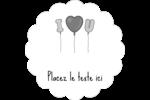 Ballon d'amour de Saint-Valentin Étiquettes festonnées - gabarit prédéfini. <br/>Utilisez notre logiciel Avery Design & Print Online pour personnaliser facilement la conception.
