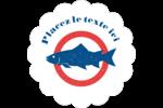 Fruits de mer Étiquettes D'Adresse - gabarit prédéfini. <br/>Utilisez notre logiciel Avery Design & Print Online pour personnaliser facilement la conception.