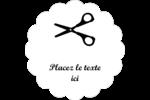 Ciseaux Étiquettes D'Adresse - gabarit prédéfini. <br/>Utilisez notre logiciel Avery Design & Print Online pour personnaliser facilement la conception.