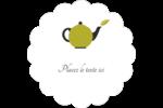 Théière Étiquettes D'Adresse - gabarit prédéfini. <br/>Utilisez notre logiciel Avery Design & Print Online pour personnaliser facilement la conception.