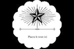 Étoile Étiquettes D'Adresse - gabarit prédéfini. <br/>Utilisez notre logiciel Avery Design & Print Online pour personnaliser facilement la conception.