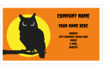 Make custom projects delightfully spooky with pre-designed Halloween Owl templates.