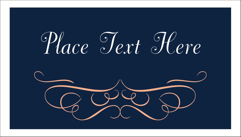 "2"" x 3½"" Business Card - Romance"