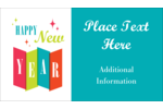 Infuse traditional charm into projects with pre-designed Retro Happy New Year templates.