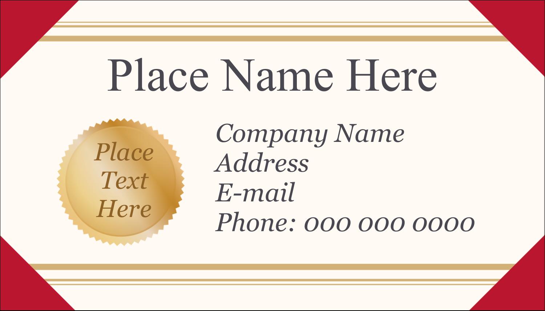 "2"" x 3½"" Business Card - Grad Diploma"