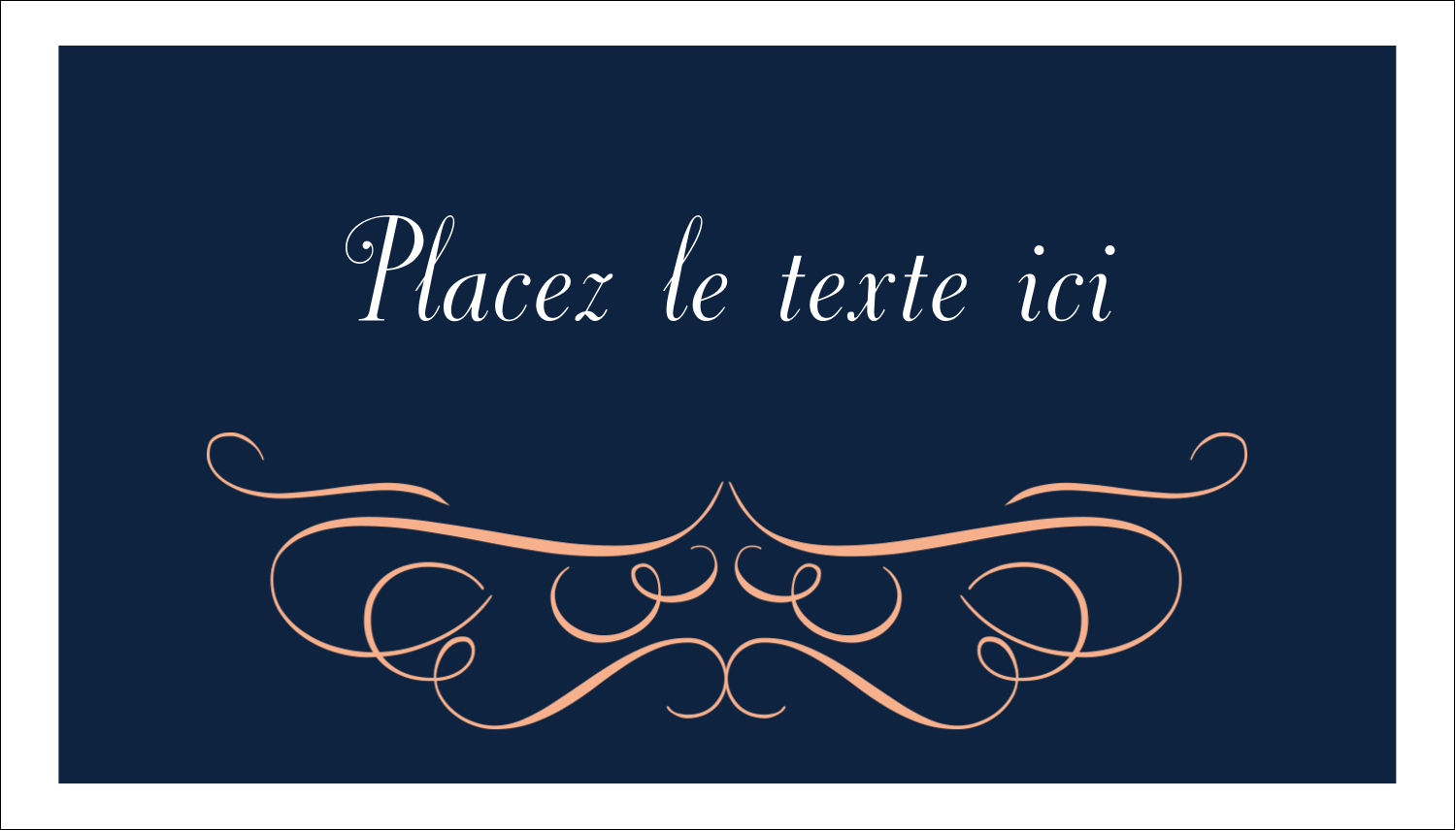 "2"" x 3½"" Carte d'affaire - Romance"