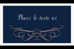 Romance Carte d'affaire - gabarit prédéfini. <br/>Utilisez notre logiciel Avery Design & Print Online pour personnaliser facilement la conception.