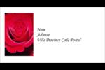 Rose rouge Étiquettes Pour Copieurs - gabarit prédéfini. <br/>Utilisez notre logiciel Avery Design & Print Online pour personnaliser facilement la conception.