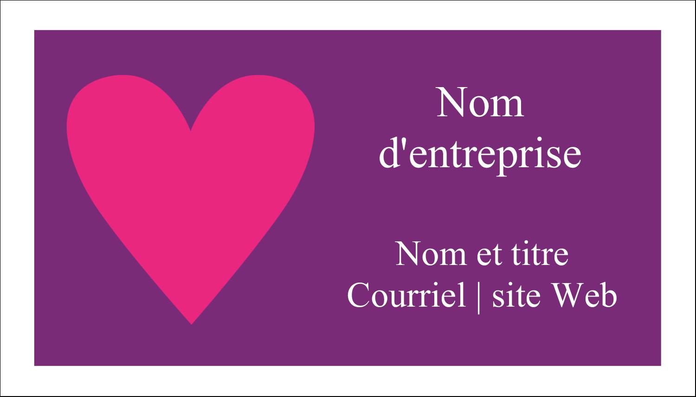 """3"""" x 5"""" Cartes Pour Le Bureau - Rang de cœurs de la Saint-Valentin"""