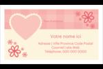 Guingan de la Saint-Valentin Cartes Pour Le Bureau - gabarit prédéfini. <br/>Utilisez notre logiciel Avery Design & Print Online pour personnaliser facilement la conception.