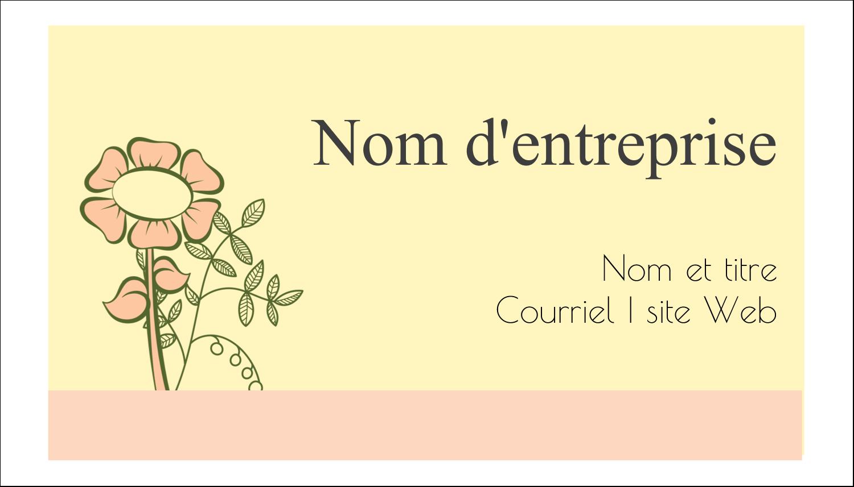 """3"""" x 5"""" Cartes Pour Le Bureau - Dessin floral"""