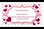 Bulles de Saint-Valentin Cartes Pour Le Bureau - gabarit prédéfini. <br/>Utilisez notre logiciel Avery Design & Print Online pour personnaliser facilement la conception.