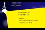 Projecteur sur fond bleu Carte d'affaire - gabarit prédéfini. <br/>Utilisez notre logiciel Avery Design & Print Online pour personnaliser facilement la conception.