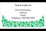 Pluie de trèfles de la Saint-Patrick Cartes Pour Le Bureau - gabarit prédéfini. <br/>Utilisez notre logiciel Avery Design & Print Online pour personnaliser facilement la conception.