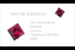 Pierres de rubis  Cartes Pour Le Bureau - gabarit prédéfini. <br/>Utilisez notre logiciel Avery Design & Print Online pour personnaliser facilement la conception.