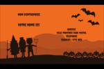 Enfants à l'Halloween Carte d'affaire - gabarit prédéfini. <br/>Utilisez notre logiciel Avery Design & Print Online pour personnaliser facilement la conception.