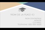Diplômes et couleurs Carte d'affaire - gabarit prédéfini. <br/>Utilisez notre logiciel Avery Design & Print Online pour personnaliser facilement la conception.