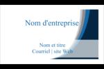 Vague bleue Cartes Pour Le Bureau - gabarit prédéfini. <br/>Utilisez notre logiciel Avery Design & Print Online pour personnaliser facilement la conception.