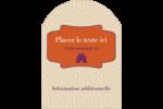 Ruche violette Étiquettes rectangulaires - gabarit prédéfini. <br/>Utilisez notre logiciel Avery Design & Print Online pour personnaliser facilement la conception.