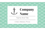 Become the captain of your own design with this anchors aweigh template.