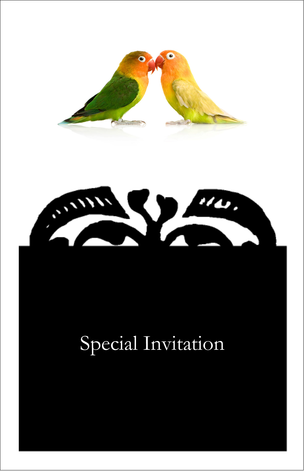 "5"" x 8½"" Half Fold Card - Birds in Nature"