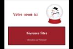 Globe de bonhomme de neige Badges - gabarit prédéfini. <br/>Utilisez notre logiciel Avery Design & Print Online pour personnaliser facilement la conception.
