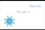 Flocon de neige Badges - gabarit prédéfini. <br/>Utilisez notre logiciel Avery Design & Print Online pour personnaliser facilement la conception.