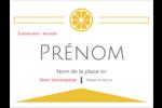 Petite icône d'agrume Badges - gabarit prédéfini. <br/>Utilisez notre logiciel Avery Design & Print Online pour personnaliser facilement la conception.