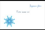 Flocon de neige Étiquettes badges autocollants - gabarit prédéfini. <br/>Utilisez notre logiciel Avery Design & Print Online pour personnaliser facilement la conception.