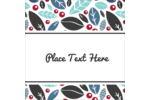Add fresh modern flair to custom projects with printable pre-designed Leafy templates.