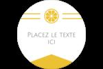 Petite icône d'agrume Étiquettes Voyantes - gabarit prédéfini. <br/>Utilisez notre logiciel Avery Design & Print Online pour personnaliser facilement la conception.