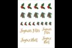 Noël naturel 1 Cartes Et Articles D'Artisanat Imprimables - gabarit prédéfini. <br/>Utilisez notre logiciel Avery Design & Print Online pour personnaliser facilement la conception.
