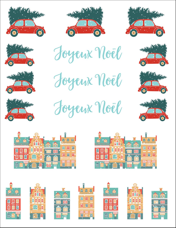 Coccinelle festive Cartes Et Articles D'Artisanat Imprimables - gabarit prédéfini. <br/>Utilisez notre logiciel Avery Design & Print Online pour personnaliser facilement la conception.