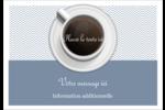 Tasse à café au-dessus Badges - gabarit prédéfini. <br/>Utilisez notre logiciel Avery Design & Print Online pour personnaliser facilement la conception.