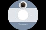 Tasse à café au-dessus Étiquettes Pour Médias - gabarit prédéfini. <br/>Utilisez notre logiciel Avery Design & Print Online pour personnaliser facilement la conception.