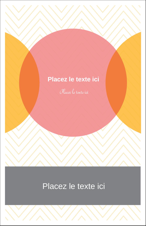 """8½"""" x 5"""" Cartes Et Articles D'Artisanat Imprimables - Cercles Chevron"""