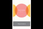 Cercles Chevron Cartes Et Articles D'Artisanat Imprimables - gabarit prédéfini. <br/>Utilisez notre logiciel Avery Design & Print Online pour personnaliser facilement la conception.