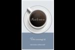 Tasse à café au-dessus Cartes Et Articles D'Artisanat Imprimables - gabarit prédéfini. <br/>Utilisez notre logiciel Avery Design & Print Online pour personnaliser facilement la conception.