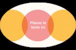Cercles Chevron Étiquettes ovales - gabarit prédéfini. <br/>Utilisez notre logiciel Avery Design & Print Online pour personnaliser facilement la conception.
