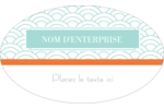 Savons Deco Étiquettes ovales - gabarit prédéfini. <br/>Utilisez notre logiciel Avery Design & Print Online pour personnaliser facilement la conception.