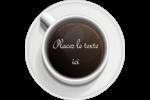 Tasse à café au-dessus Étiquettes rondes - gabarit prédéfini. <br/>Utilisez notre logiciel Avery Design & Print Online pour personnaliser facilement la conception.