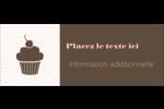 Petit gâteau Étiquettes D'Adresse - gabarit prédéfini. <br/>Utilisez notre logiciel Avery Design & Print Online pour personnaliser facilement la conception.