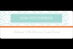 Savons Deco Étiquettes D'Adresse - gabarit prédéfini. <br/>Utilisez notre logiciel Avery Design & Print Online pour personnaliser facilement la conception.