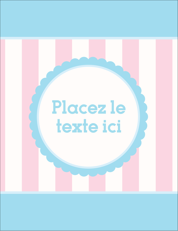 "5½"" x 4¼"" Carte Postale - Barbe à papa"